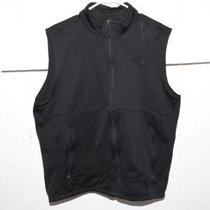 Mens North Face black vest size XL J138